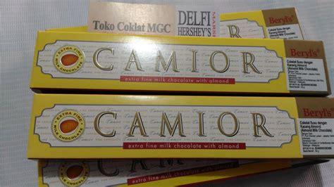 jual coklat beryls camior almond import malaysia gr