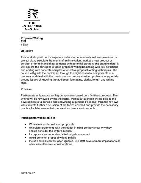 Proposal Writing Template Essay About Faith Proposal Writing Sample