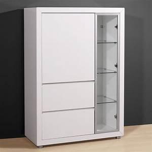 Buffet Metal Ikea : enchanteur buffet haut blanc laqu pas cher avec meuble tv metal rouge ikea galerie images ~ Teatrodelosmanantiales.com Idées de Décoration