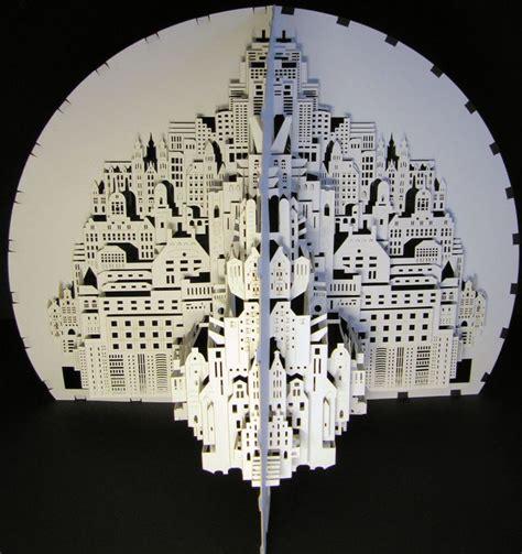 di carta architettura con la carta scultura di carta
