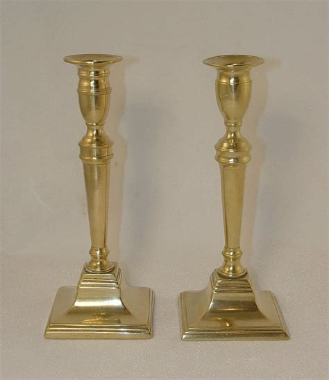 candlestick ls for sale pair of brass regency period candlesticks for sale