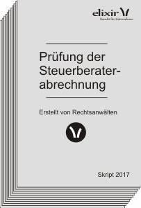 Abrechnung Steuerberater : steuerberater zu teuer abrechnung pr fen unternehmensrecht wirtschaftsrecht elixir ~ Themetempest.com Abrechnung