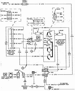I Need The Wiring Code For A A  C Switch On A 1987 Dodge Ramcharger