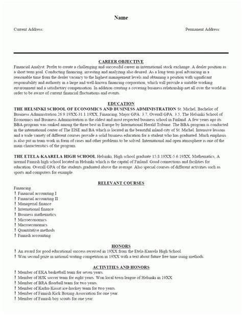 resume introduction exles free resume templates