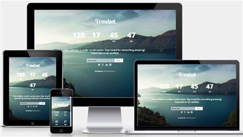 coming  responsive web template webthemez