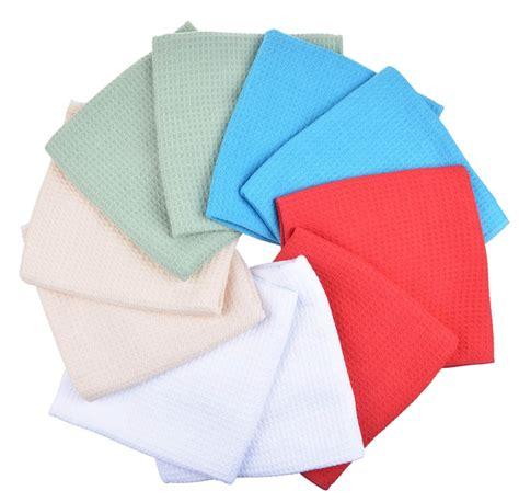 online get cheap waffle weave kitchen towels aliexpress