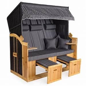Strandkorb Xxl Volllieger : strandkorb xxl deluxe 160cm volllieger gartenliege ostsee ~ Watch28wear.com Haus und Dekorationen