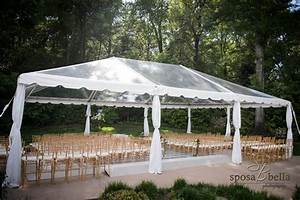 30′ Clear Traditional Frame Tent – Professional Party Rentals