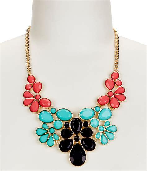 anna ava lillian statement necklace dillards