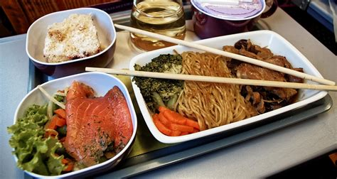 cuisine dinner airways meals inflight food airline meal review
