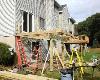 Building A Second Story Deck