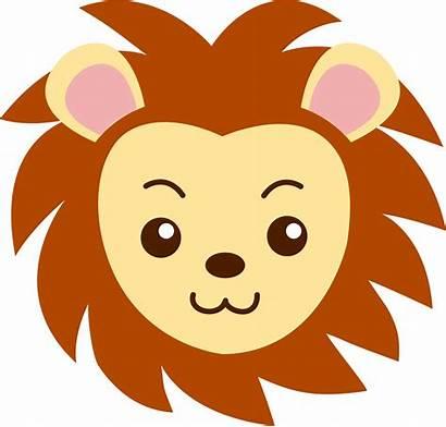 Lion Face Clip Sweetclipart