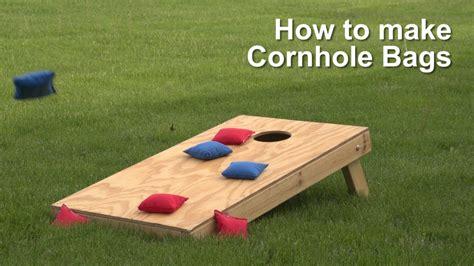 How To Make Cornhole Bags Youtube