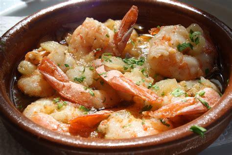 cuisine gambas recipe gambas al ajillo garlic shrimp tapas