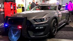 2017 Ford Mustang Shelby GT350 Police Car - YouTube