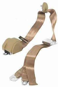 Buy Seat Belt 3 Point Shoulder Tan Saddle Parchment Pair W