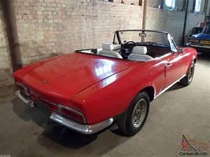 1968 Fiat 124 Pininfarina Sport Spider