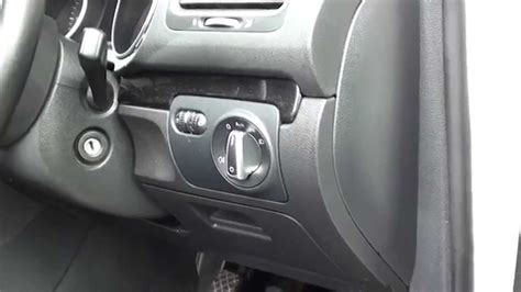 2006 Gti Fuse Box Location by Vw Golf Mk6 Interior Fuse Box Location 2008 To 2013 Models
