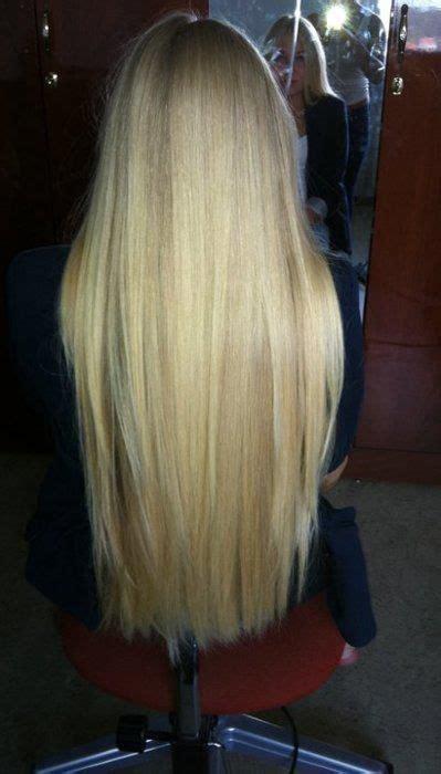 Straight Hair Nail Art Styling