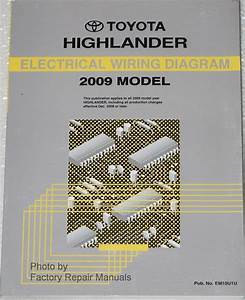 2009 Toyota Highlander Electrical Wiring Diagrams