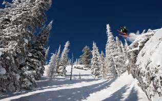 Skiing Whistler BC Canada