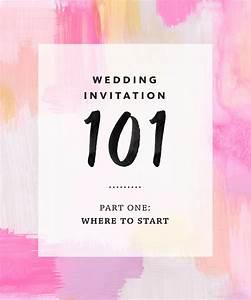wedding invitation 101 where to start With wedding invitation etiquette titles