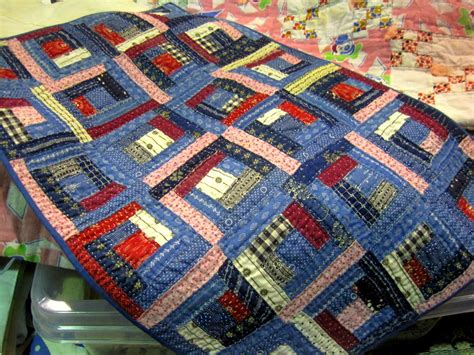 patchwork cabin a sentimental quilter log cabin