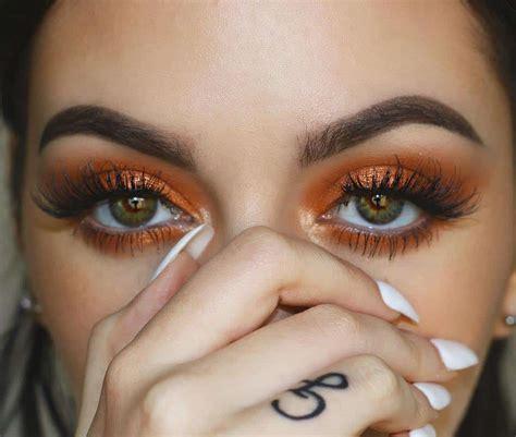 metallic makeup ideas   fall  ritely