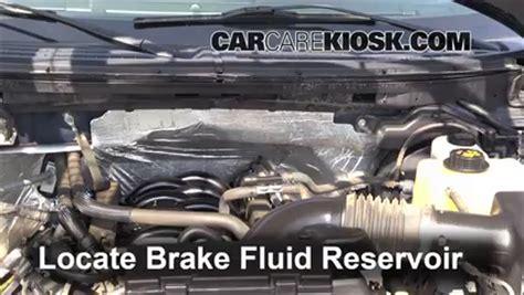 ford   brake fluid level check  ford