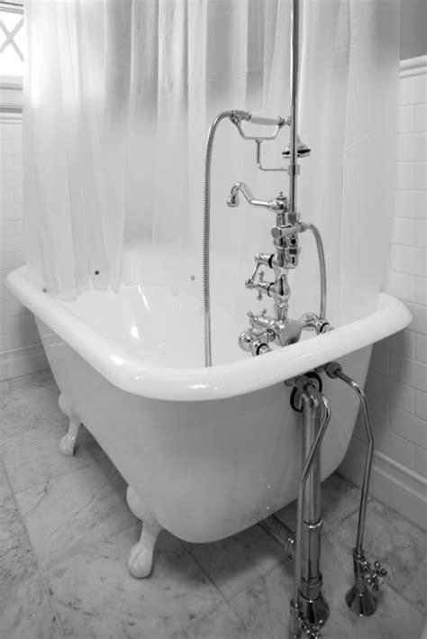 relaxing bathrooms featuring elegant clawfoot tubs