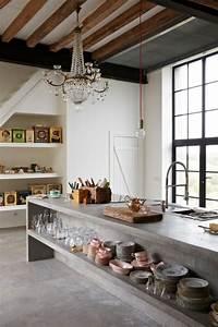 Beton Arbeitsplatte Küche : arbeitsplatte beton kueche ideen ~ Sanjose-hotels-ca.com Haus und Dekorationen