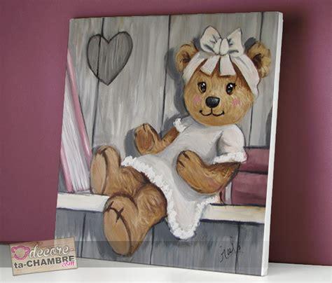 stickers ours chambre bébé tableau ourson fille livre vente tableau ourson pour
