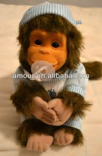 baby monkey toy stuffed little monkey doll new year toys for kids cheap selling