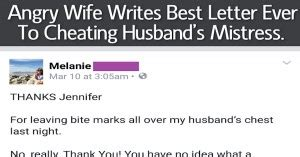 letter to my cheating husband quotes about bitter quotesgram 23227 | 687463106 198881 Angry Wife Writes Best Letter Ever To Cheating Husband s Mistress This Is Gold
