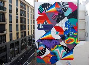 Graphic Design On Steroids  Murone U2019s Murals Splash The Streets With Color
