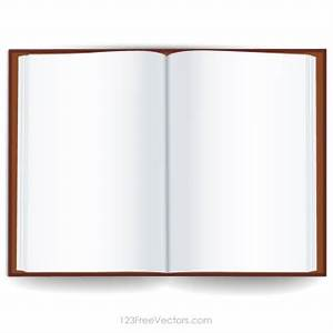 Blank Book Cover Template - ClipArt Best