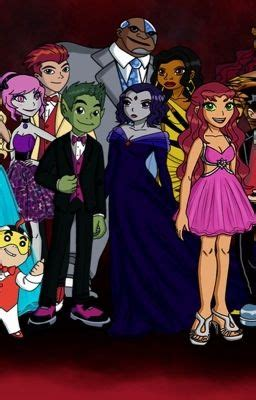 titans love story of raven and beast boy robin and