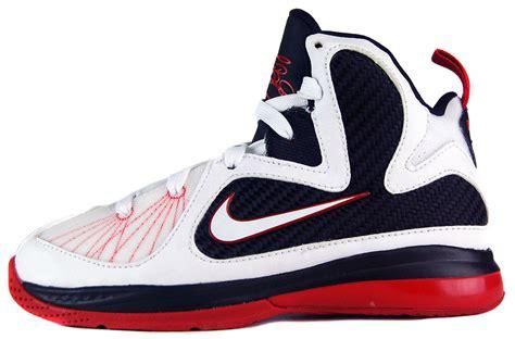 nike lebron 9 ps sz 12 preschool boys basketball shoes 150 | 472665 100
