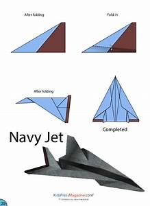 Fighter Jet Origami Plane Instructions  U2013 Jadwal Bus