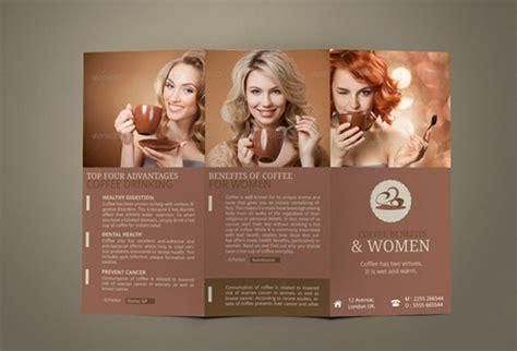 awesome coffee shop brochure templates  coffee