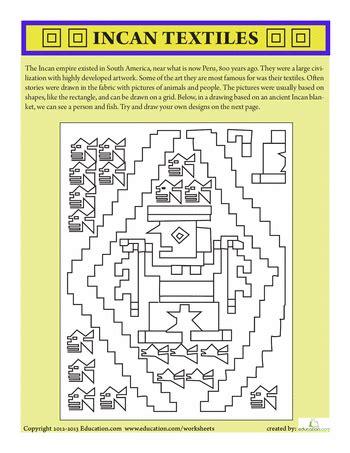 inca textiles ed multicultural