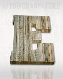 pallet letters a to z rustic edge rustic wedding decor With pallet wood letters