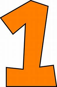 Number 1 Clipart