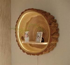 Lampe Mit Holzstamm : tree trunk lamp wood lamp holzlampe baumst mme und lampen ~ Indierocktalk.com Haus und Dekorationen