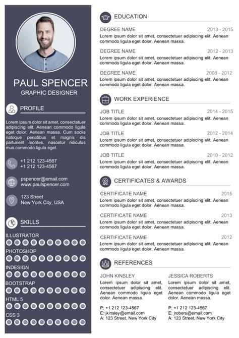 unique cv design resume design  ahmad
