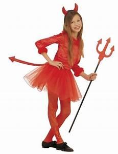 Girl's Devil Halloween costume children's Halloween costumes