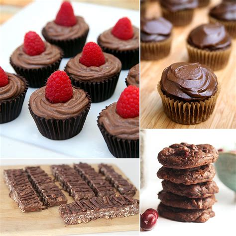 recipes for desserts with chocolate best healthy chocolate dessert recipes popsugar fitness