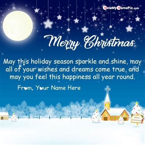 write   merry christmas greeting card  create