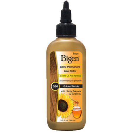 bigen semi permanent hair color golden blonde  ounce