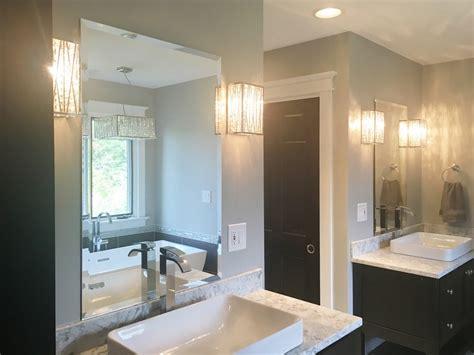 bathroom custom mirrors creative mirror shower
